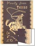 Howdy from Texas  Bucking Bronco