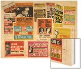 Collection of 1960's Odeon Concert Hall Bills  Including the Beach Boys  Duke Ellington  Ella…