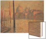 Santa Maria della Salute and the Canale Grande  Venice  1908