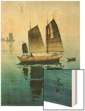 Forenoon  from a Set of Six Prints of Sailing Boats