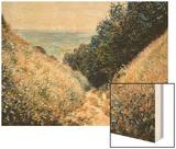 Road at La Cavee  Pourville