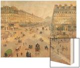 The Avenue De L'Opera  Paris  circa 1880