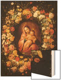 Madonna and Child within a Garland of Flowers