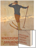 Wintersport in Graubunden  1906