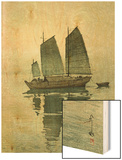 Evening  from a Set of Six Prints of Sailing Boats