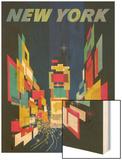 Travel Poster  New York City