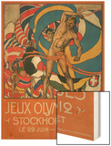 Poster for Stockholm Olympics 1912