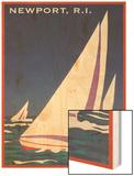Newport  Rhode Island  Sailboat Graphics