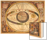 Representation of Ptolemy's System Showing Earth