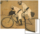 Ramon Casas and Pere Romeu on a Tandem