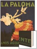 Spain - La Paloma - Anis Aguardiente Promotional Poster