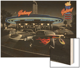 Galaxy Diner - Black and White