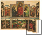 The Ghent Altarpiece or Adoration of the Mystic Lamb