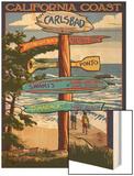 Carlsbad  California - Destination Sign