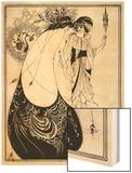The Peacock Skirt' - Aubrey Beardsley 's illustration for 'salome ' by Oscar Wilde
