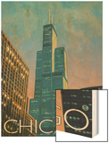 Chicago  Illinois  View of the Sears Tower
