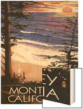 Monterey  California - Sunset and Beach