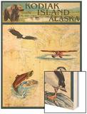 Kodiak Island  Alaska - Nautical Chart