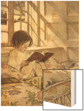 Chlld Reading on Couch  1905