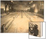 Bowling Alley  Madison Park  Seattle  1909