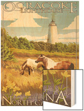 Ocracoke Lighthouse - Outer Banks  North Carolina