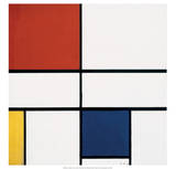 Composition C (noIII)  with Red  Yellow and Blue  1935