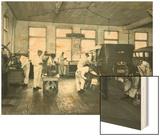Harold S Davies  Inc Service Department  Circa 1930