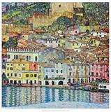 Malcena at the Gardasee, 1907 Reproduction d'art par Gustav Klimt