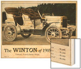 Advertisement for the Winton Automobile  4-Cylinder Model  with Price List  1905