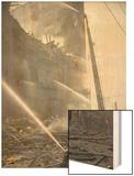 Schwabacher Hardware Company Fire  February 11  1905  Seattle