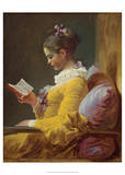 A Young Girl Reading  1776