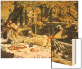 Picnic Lunch by Pool  1876