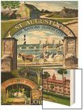 St Augustine  Florida - Montage Scenes