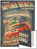 Daytona Beach  Florida - Racecar Scene