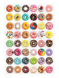 Donuts (Tops) SweetCollection Reproduction d'art