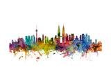 Kuala Lumpur Malaysia Skyline
