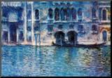Claude Monet (Palazzo da Mula  Venice) Art Poster Print
