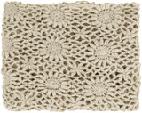 Teresa Crochet Throw - Beige*
