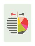 Geometric Apple Giclée par Little Design Haus