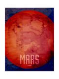 The Planet Mars Reproduction d'art par Michael Tompsett