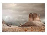 Storm over Monument Valley AZ