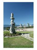 Vancouver Symbolism City View