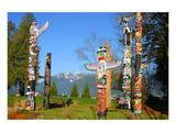 Totem's Poles in Stanley Park
