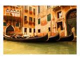 Traditional Venice gondola