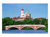 Weeks Bridge Charles River MA