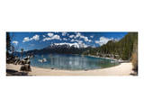 Sand Harbor Panorama Lake Tahoe