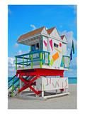 Art Deco Lifeguard Hut Florida