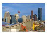 Saddle Dome & Calgary Skyline