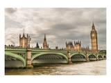 Westminster Bridge Big Ben UK