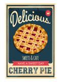 Vintage Cherry Pie Sign